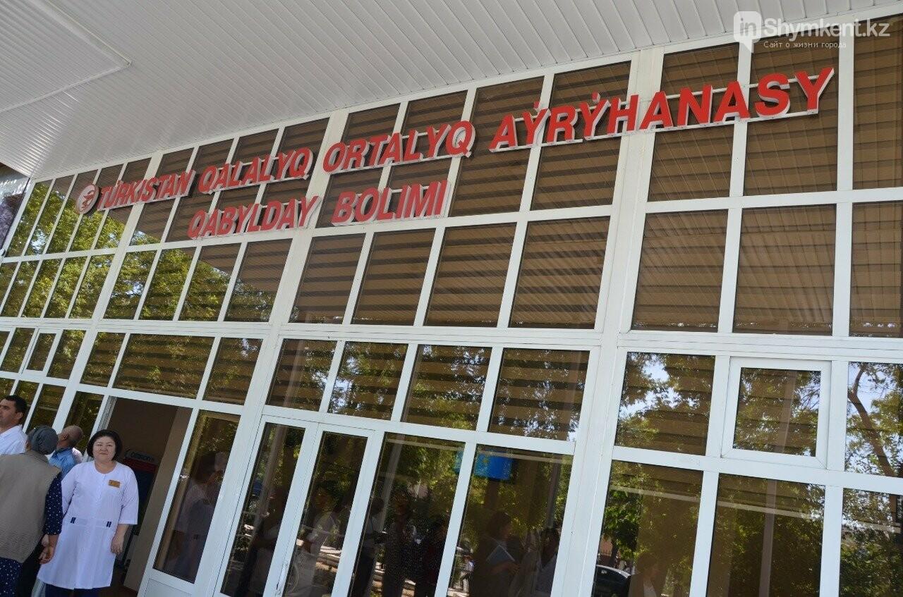 В ходе поездки министры посетили центральную больницу Туркестанской области, фото-3
