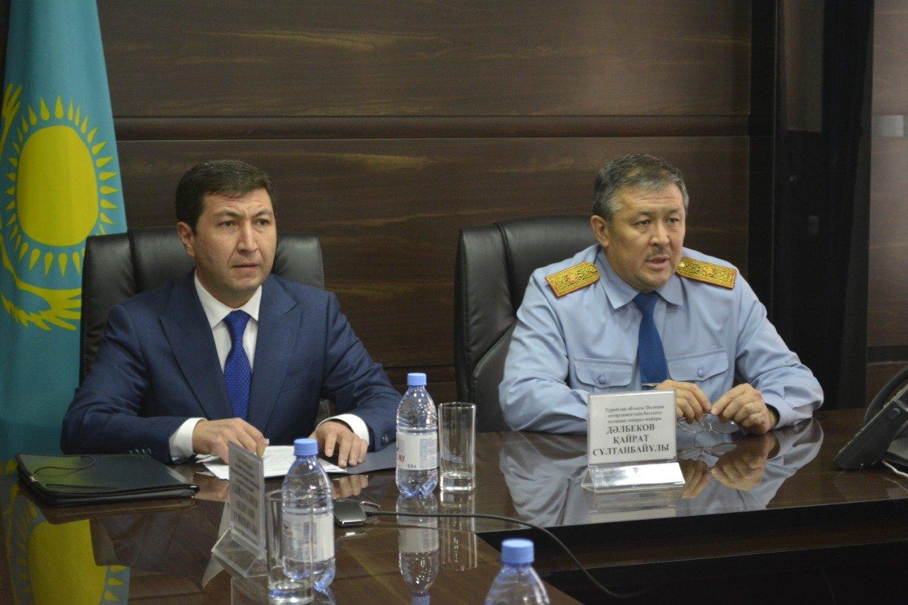 Новое назначение начальника Управления собственной безопасности ДП Туркестанской области, фото-2