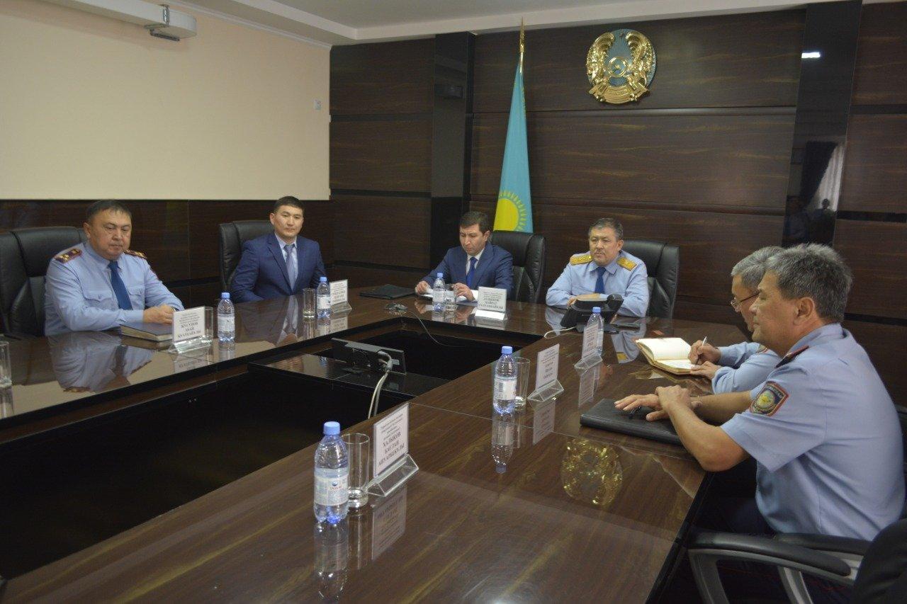 Новое назначение начальника Управления собственной безопасности ДП Туркестанской области, фото-3