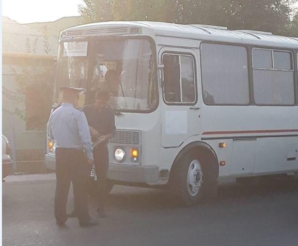 Полицейскими Туркестанской области выявлено около 300 нарушений ПДД в ходе ОПМ «Автобус», фото-5