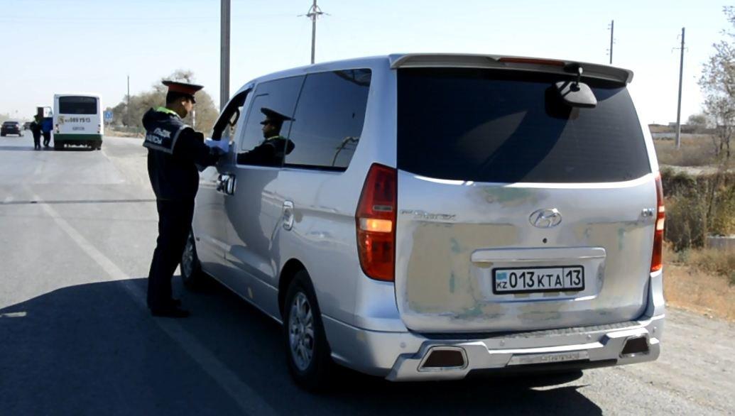 Полицейскими Туркестанской области выявлено около 300 нарушений ПДД в ходе ОПМ «Автобус», фото-3