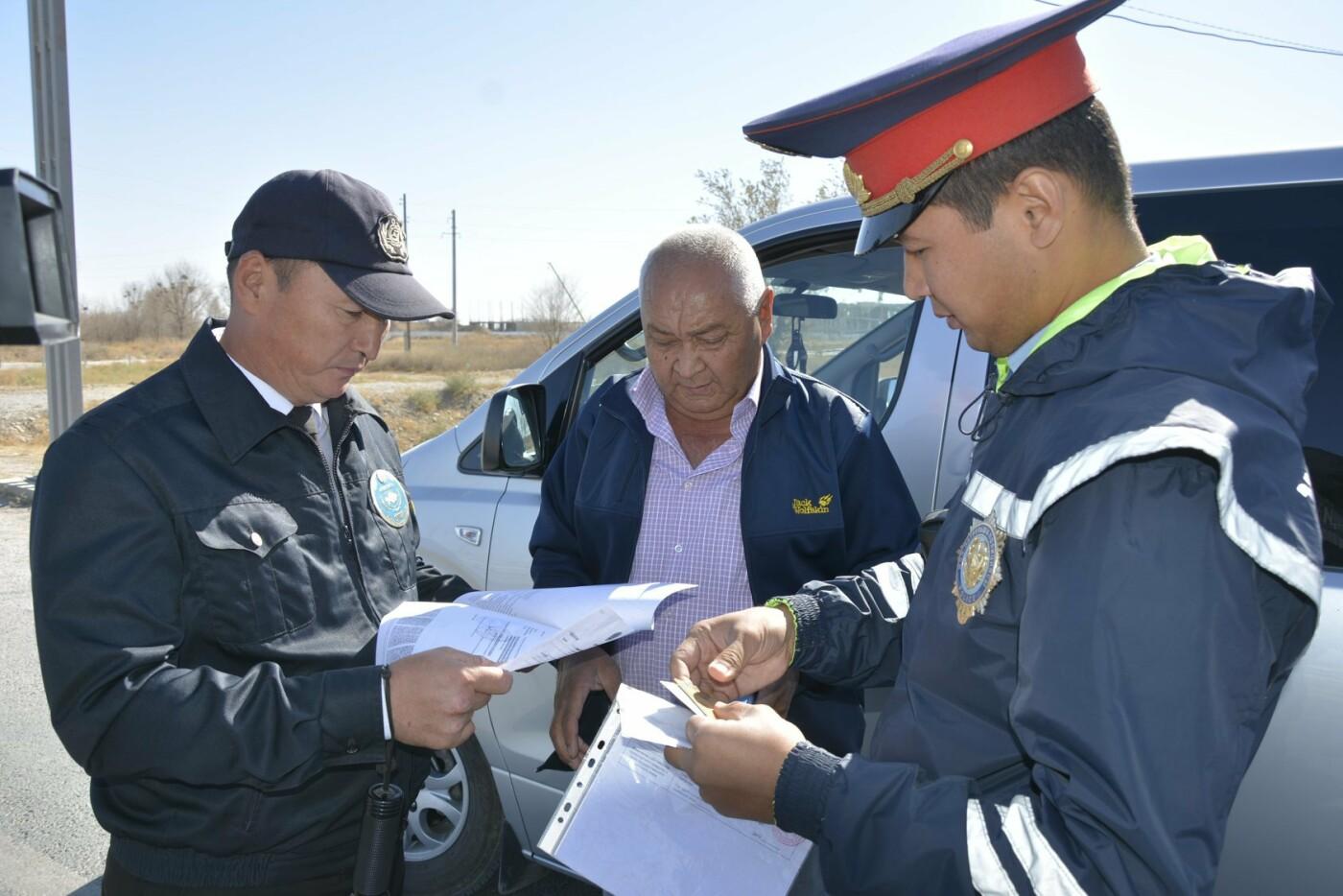 Полицейскими Туркестанской области выявлено около 300 нарушений ПДД в ходе ОПМ «Автобус», фото-2