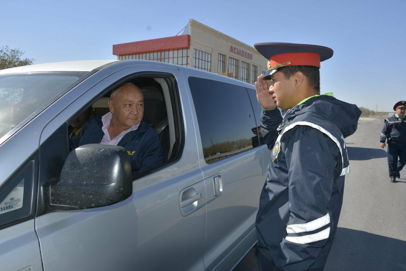 Полицейскими Туркестанской области выявлено около 300 нарушений ПДД в ходе ОПМ «Автобус», фото-1
