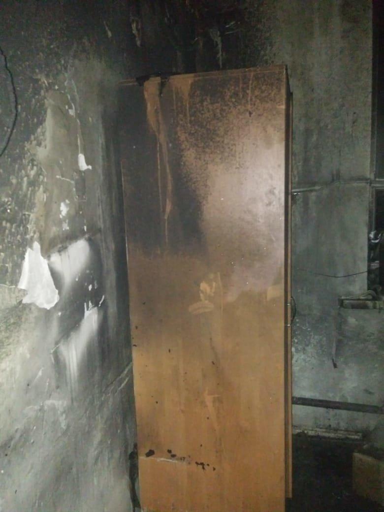 Пожар произошёл в здании вокзала Шымкента, фото-3, КЧС МВД РК