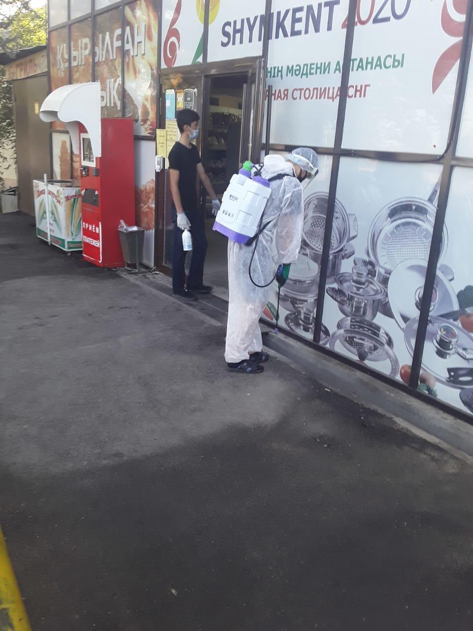 В ходе масштабной дезинфекции в Шымкенте используют 5 тонн хлорки, фото-3, Фото: пресс-служба акимата Шымкента