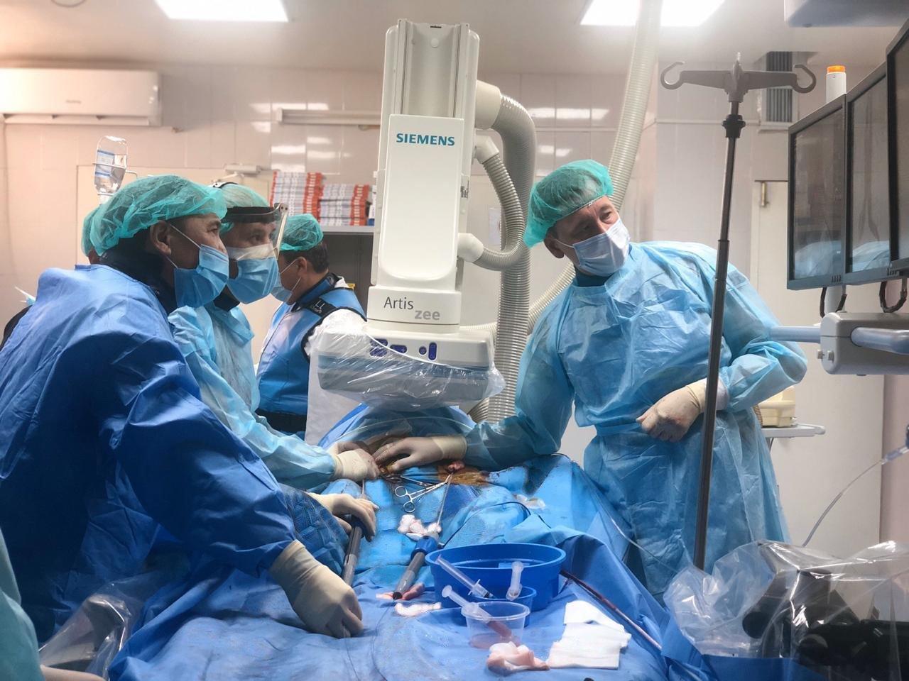 Столичные врачи провели сложные операции на сердце жителям Шымкента, фото-1
