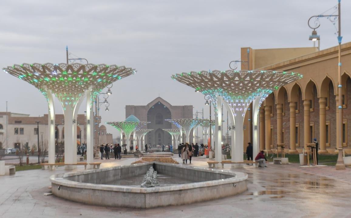 Летающий театр строится в Туркестане, пресс-служба акимата Туркестанской области