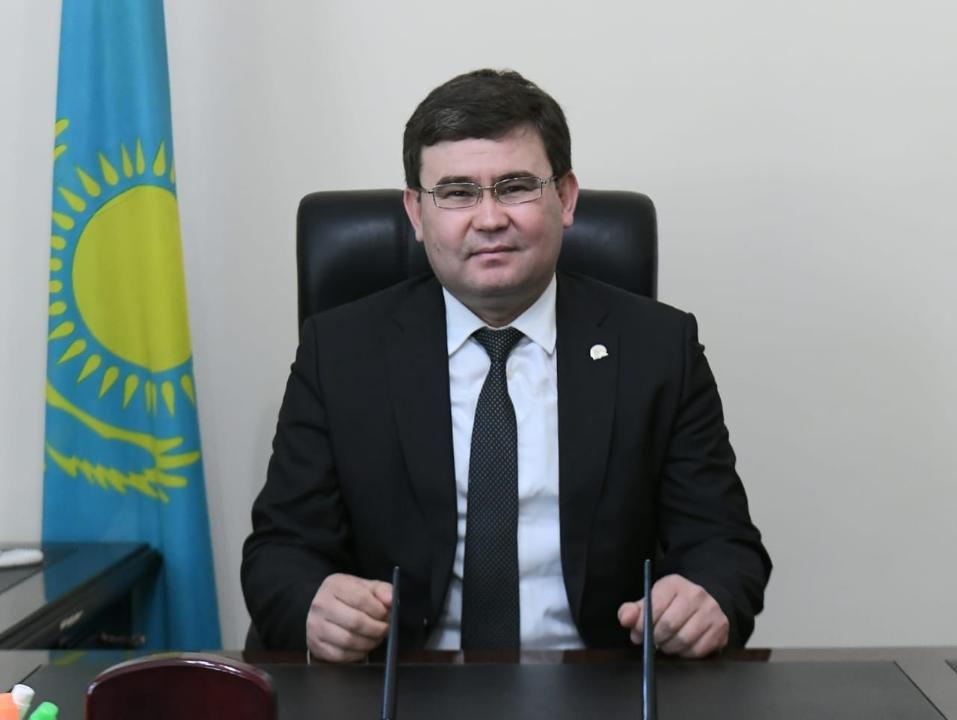 В Жетысайском районе назначили нового акима