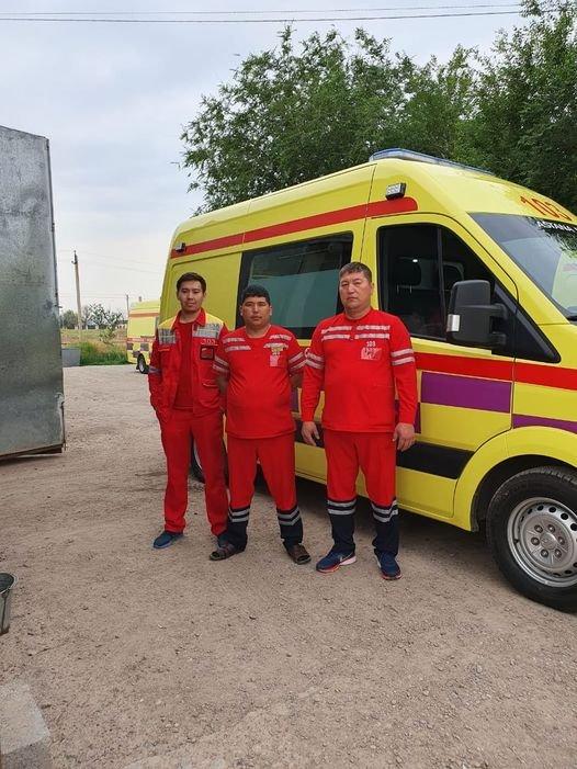 Врачи спасли ребенка в Туркестанской области, Национальный координационный центр экстренной медицины